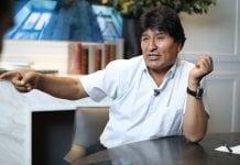Evo Morales Bolivia gobierno
