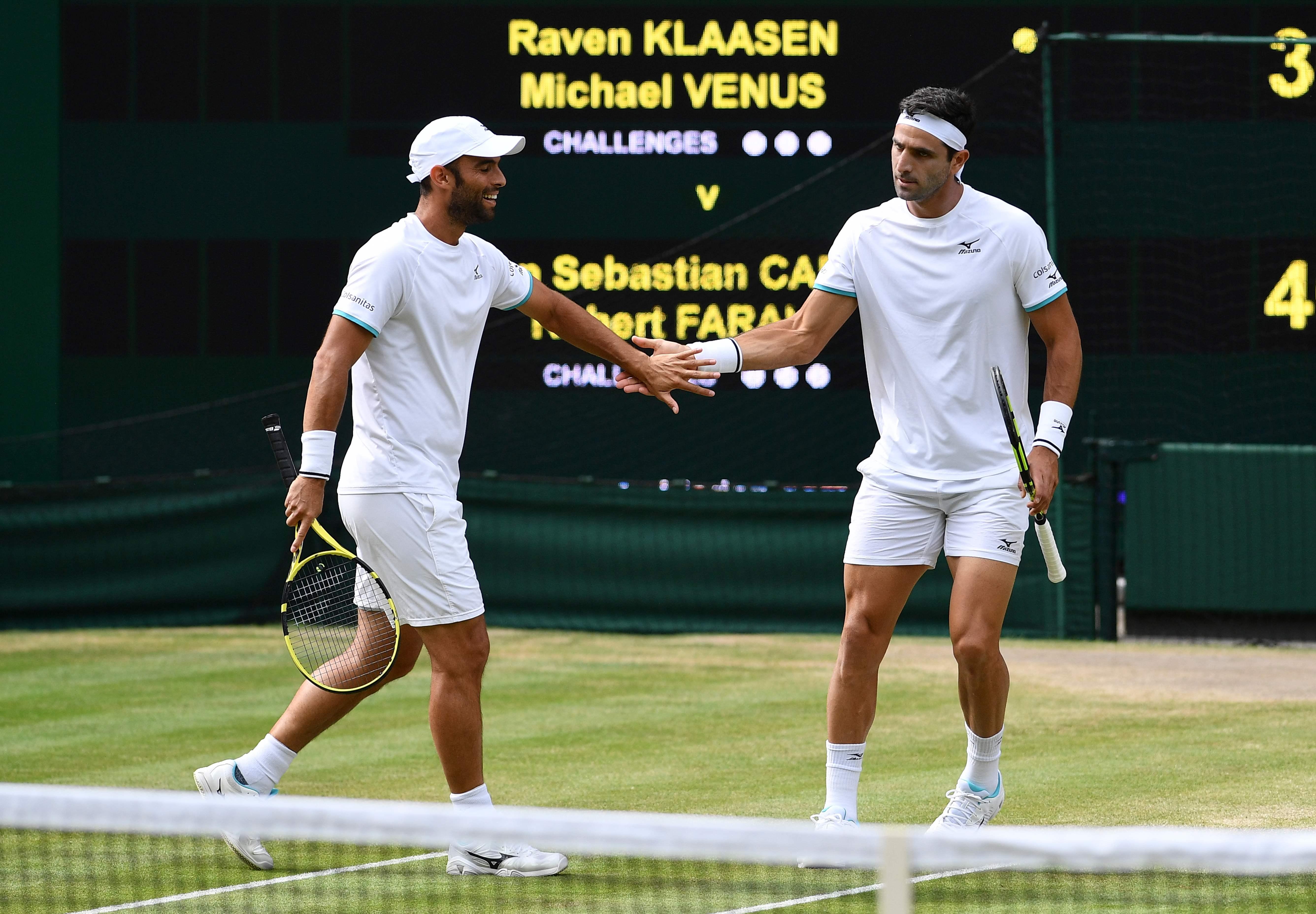 Pierre-Hugues Herbert y Nicolas Mahut ganan el primer partido — Finales ATP