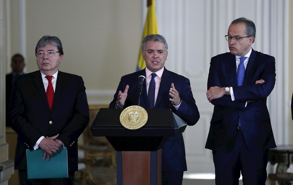 Colombia: Excanciller Holmes Trujillo fue designado como nuevo ministro de Defensa
