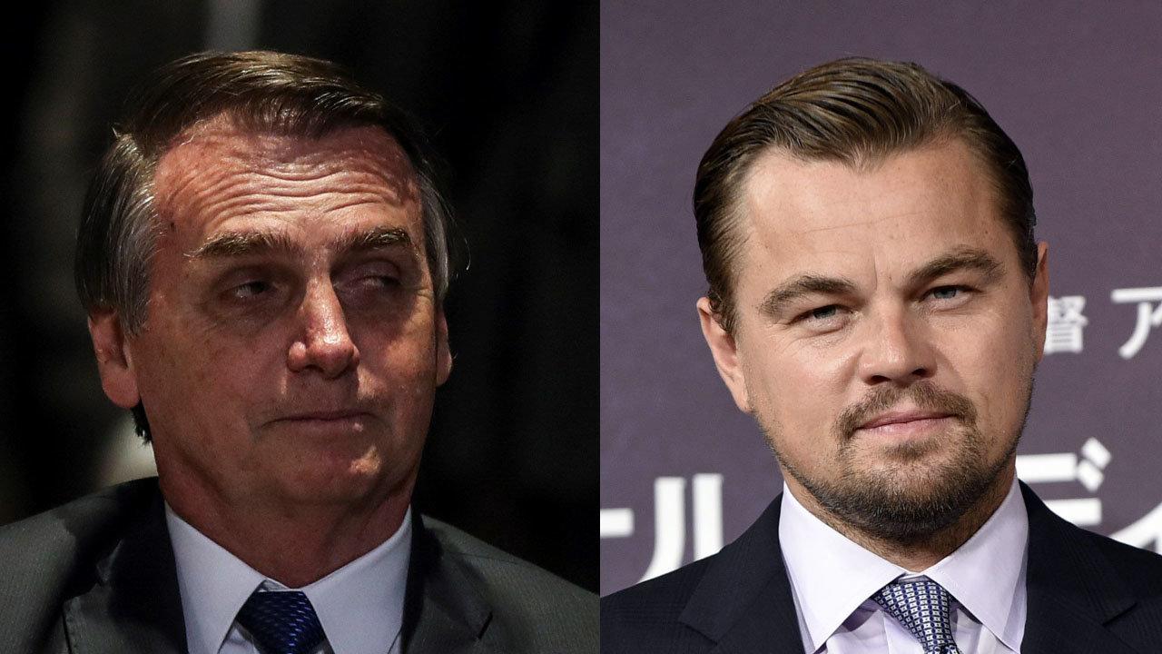 Bolsonaro acusa a Leonardo DiCaprio de financiar incendios en Amazonia