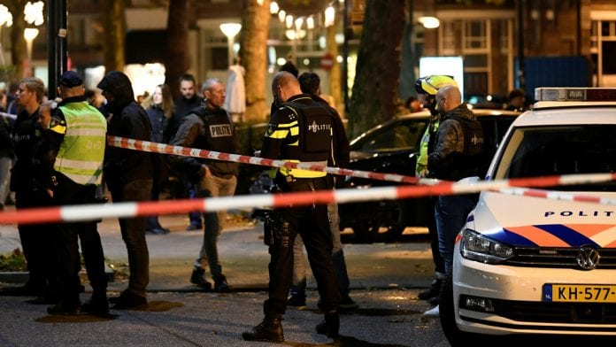 Oficiales de la Policía neerlandesa