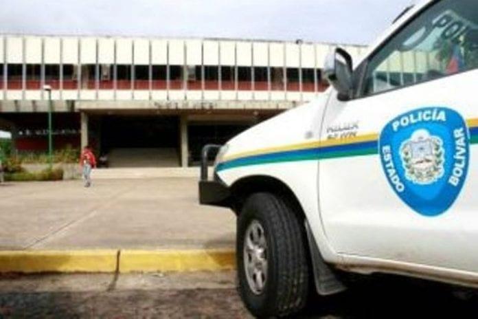 Policía del Estado Bolívar - asalto al comando