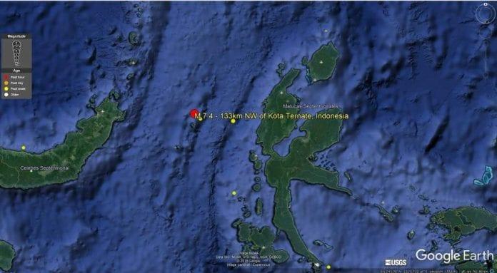 Indonesia se asienta sobre el llamado Anillo de Fuego del Pacífico