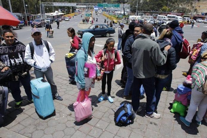Migrantes refugiados