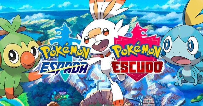 Los videojuegos Pokémon Espada
