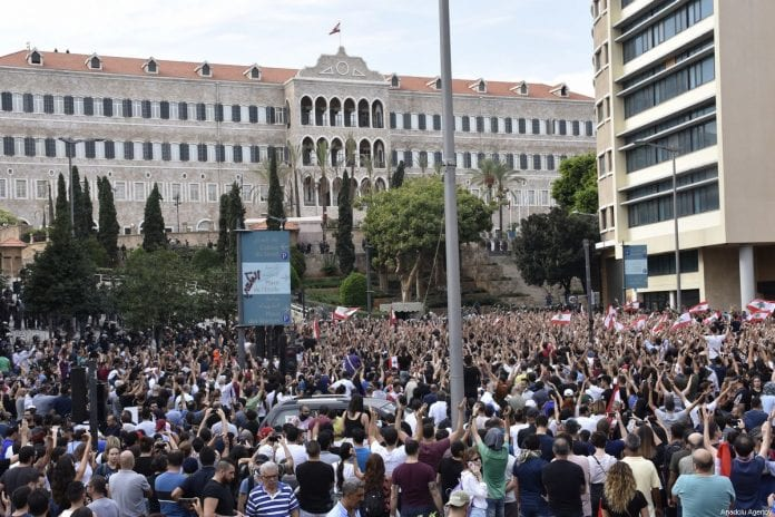 protestas líbano