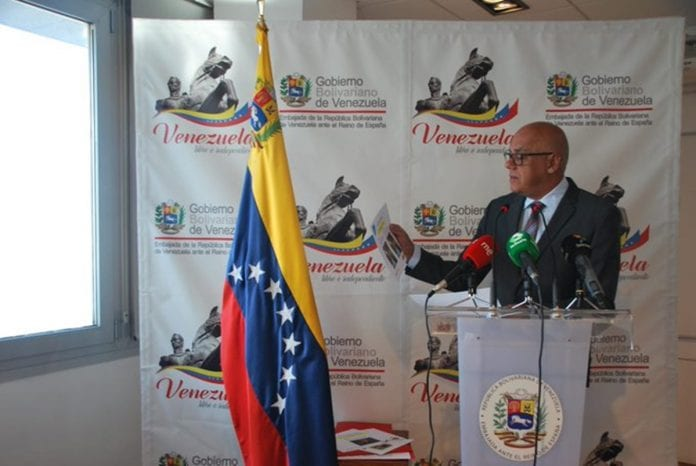 Jorge Rodríguez, Guaidó extorsionar