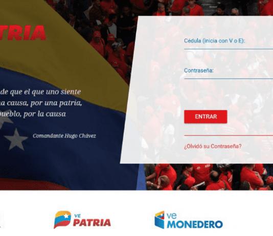 plataforma Patria