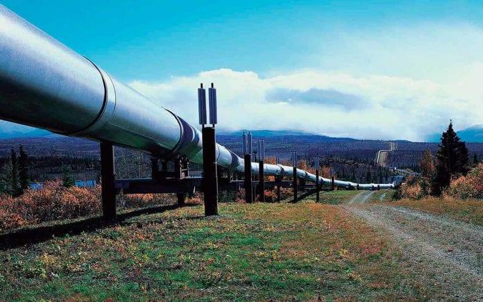 Primer gasoducto de Rusia a China