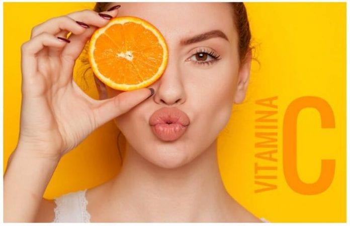 vitamina C rostro