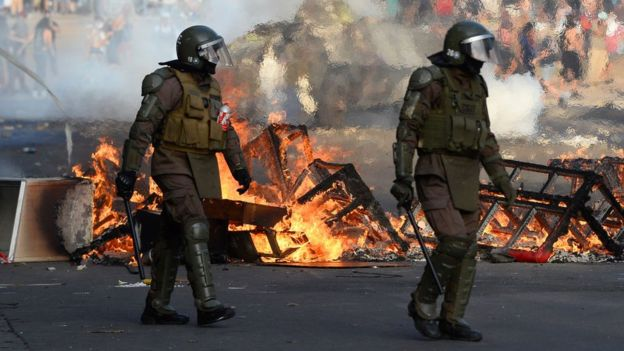ONU comprobó hechos de abusos y violaciones en las protestas en Chile