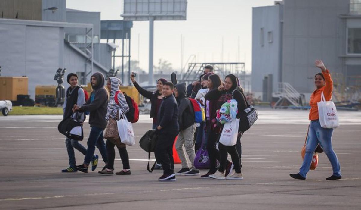 Chile retornó a 999 de sus ciudadanos que pidieron salir de Venezuela