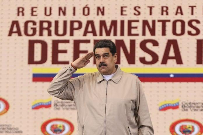 Maduro ejercicios militares