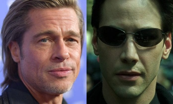 Brad Pitt Matrix