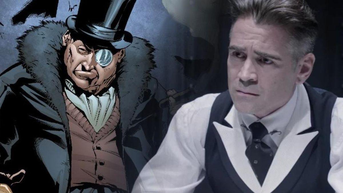 Collin Farrell The Batman El pingüino