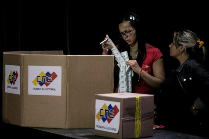 CNE, Nicolás Maduro, elecciones