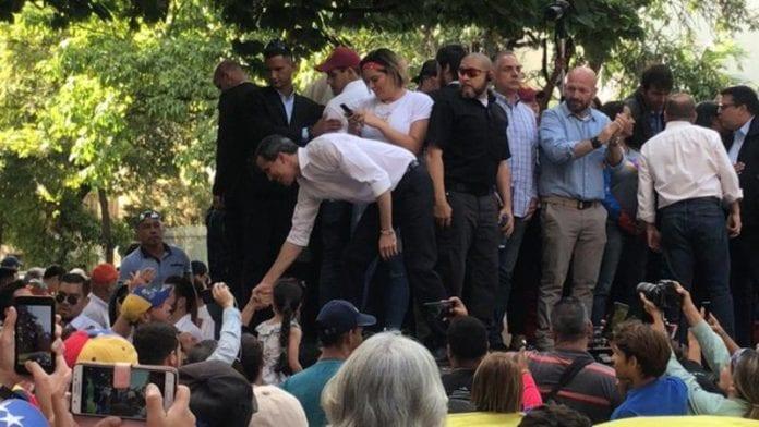 Juan Guaidó negociación