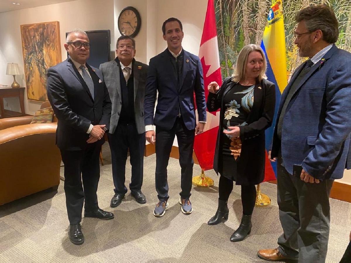 Guaidó avala contactos de Canadá con Cuba para resolver la crisis