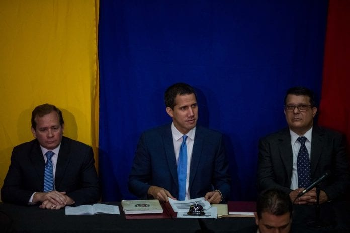 diputados lista Guaidó