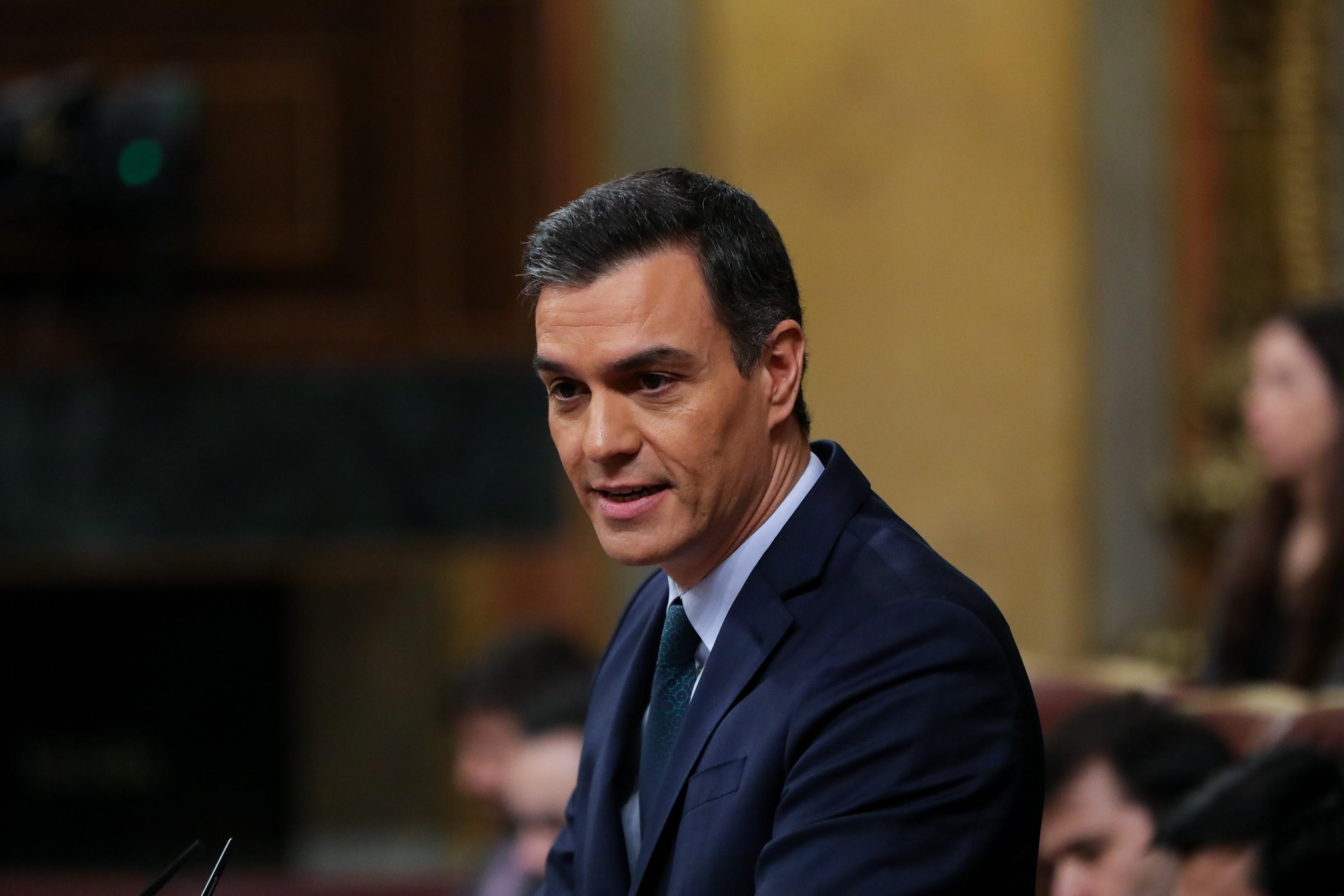 Pedro Sánchez, elegido presidente del Gobierno español