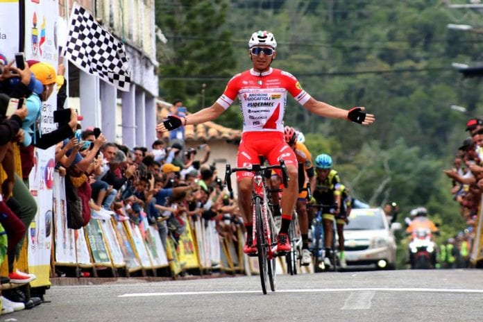 Jhonatan Restrepo Vuelta al Táchira 2020