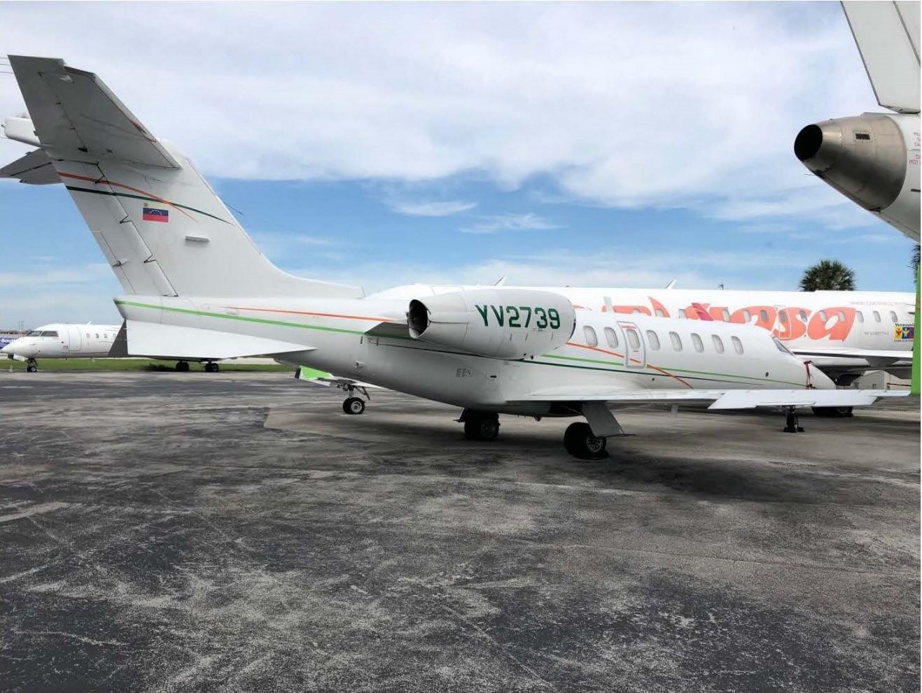 Estados Unidos bloquea la propiedad de aviones de estatal venezolana PDVSA