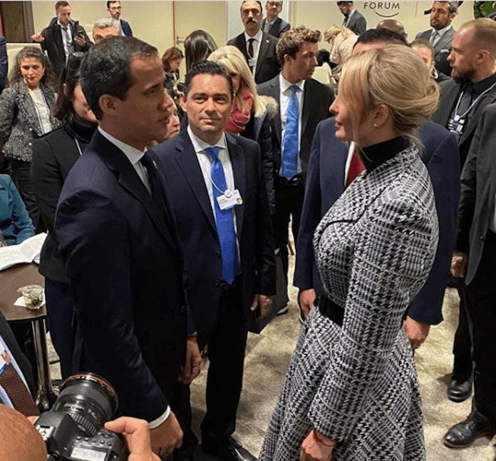 Ivanka-Trump-Guaidó-Davos