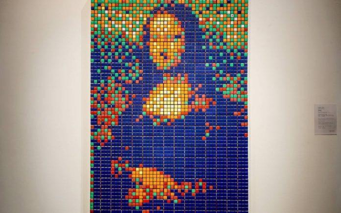 Gioconda en cubos de Rubik