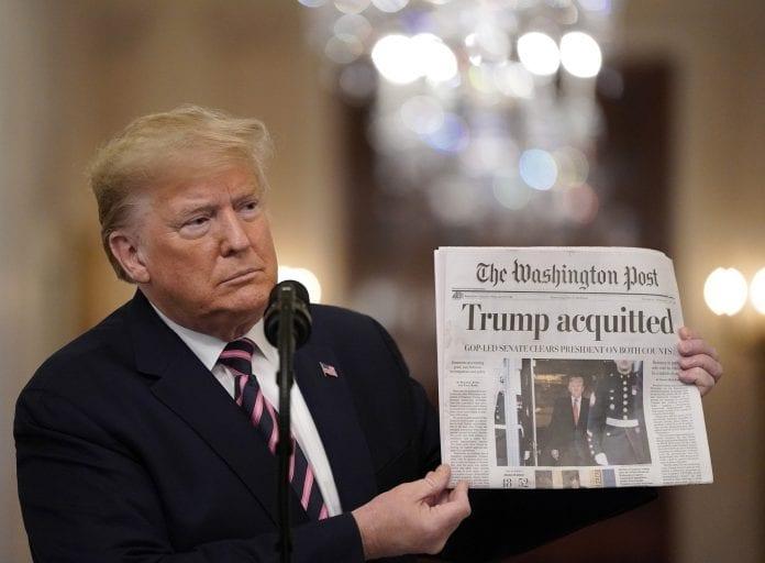Trump absolución