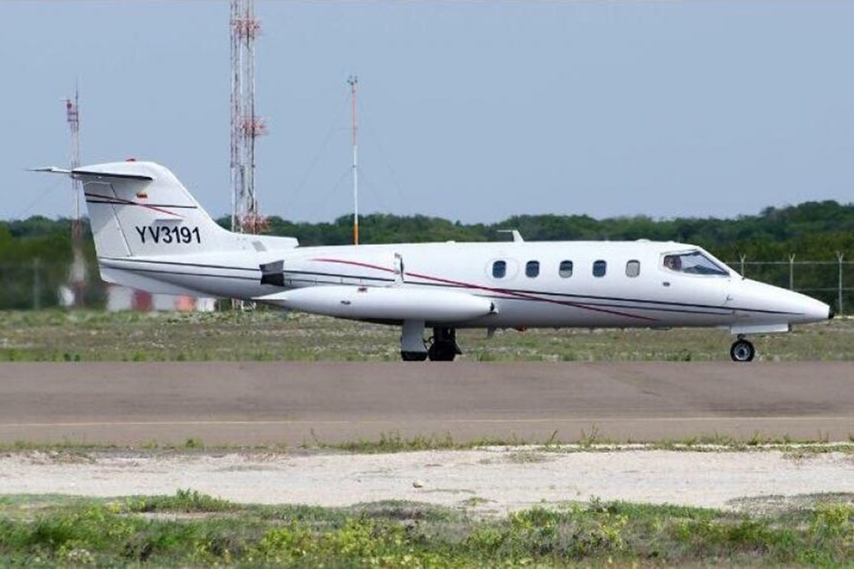 Aeronave en la que viajaba el hijo de Miguel Pérez Abad