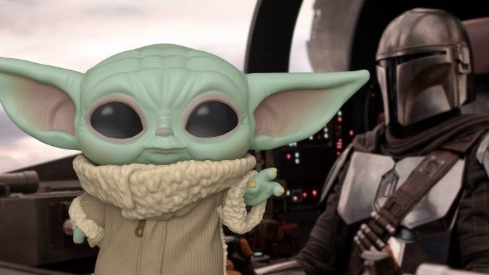 Baby Yoda figura