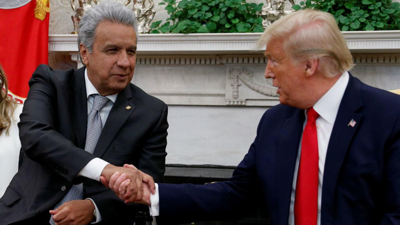 Presidente de Ecuador se reunirá con Trump, ¿Cuál es el motivo?