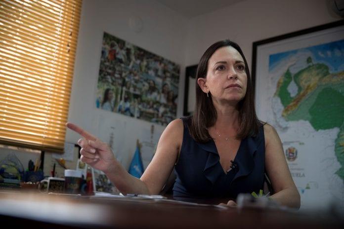 María Corina Machado Rosneft