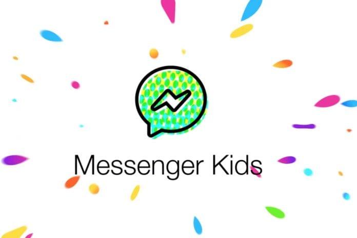 Messenger Kids control parental