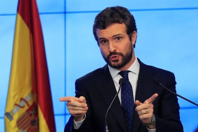 Pablo Casado exigió al gobierno español explicaciones sobre la visita de Zapatero a Venezuela