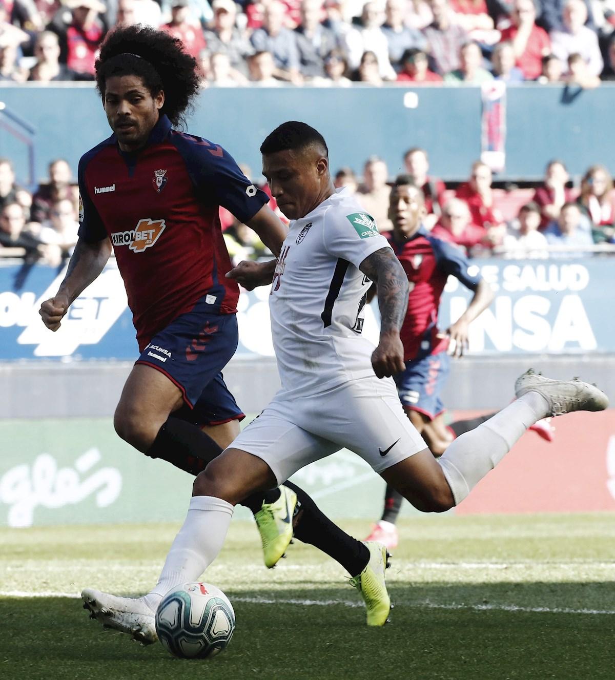 Darwin Machis marco dos goles con el Granada ante el Osasuna 1