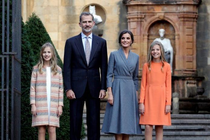 fotos familia real españa