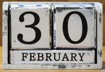 30 de febrero