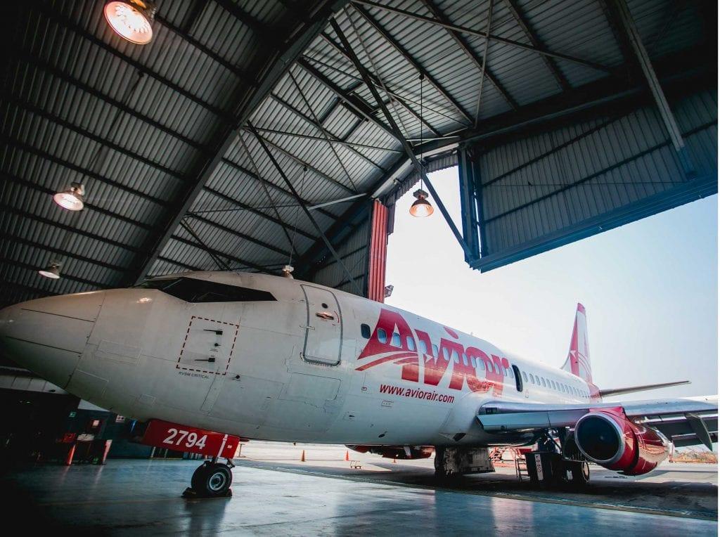 Avior suspendió vuelos nacionales e internacionales ante la amenaza del covid-19
