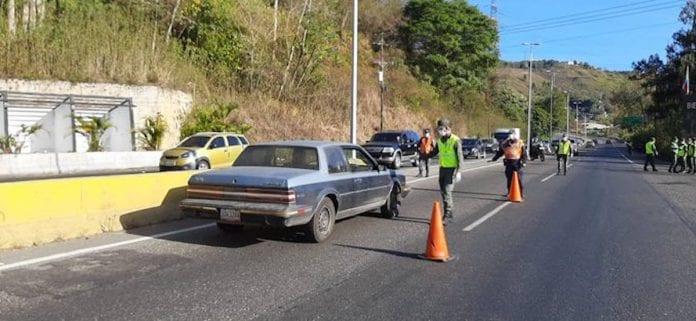 accesos a Caracas