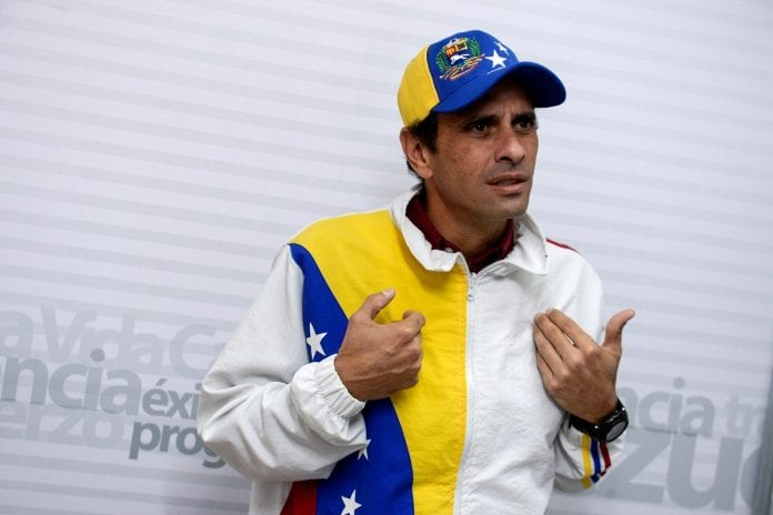 Capriles sugiere que organismos internacionales administren posible financiamiento a Venezuela