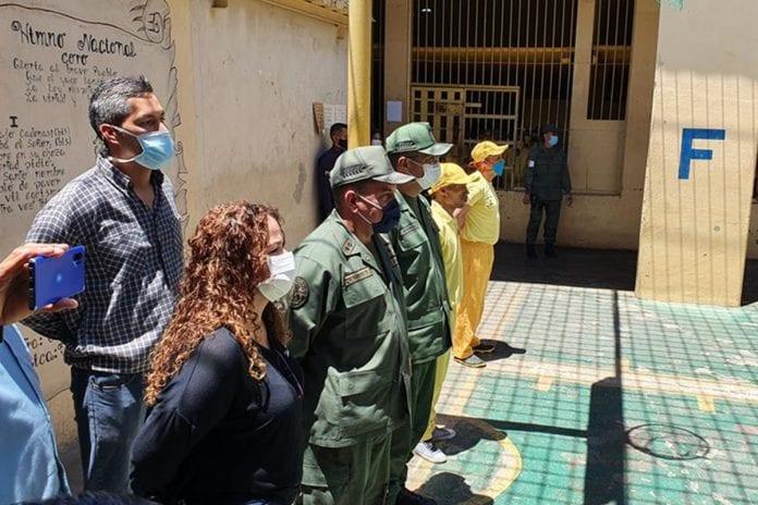 Iris Varela, Juan Guaidó, visitas en las cárceles suspendidas por coronavirus