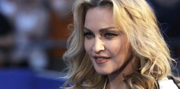 Madonna caída