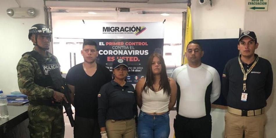 Resultado de imagen de Detuvieron en Colombia a 3 funcionarios del régimen de Maduro