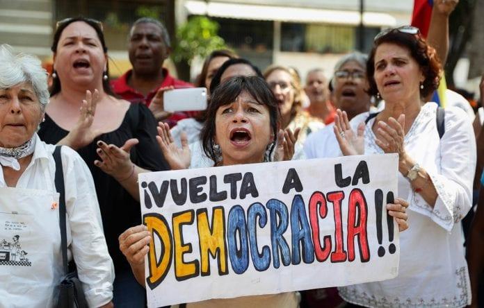 Oposición venezolana, protesta, democracia, febrero, protestas líderes opositores