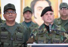 Regimio Ceballos rechazó acusaciones contra Padrino López