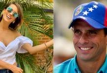 Henrique Capriles y Valeria Valle