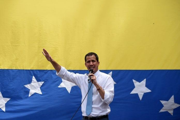 Juan Guaidó, coronavirus
