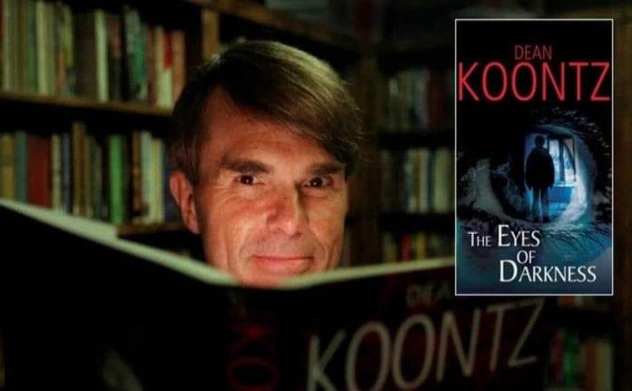 Los ojos de la oscuridad de Dean R. Kootz similar a la pandemia covid-19
