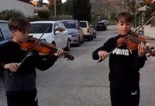 Mirko y Valerio gemelos